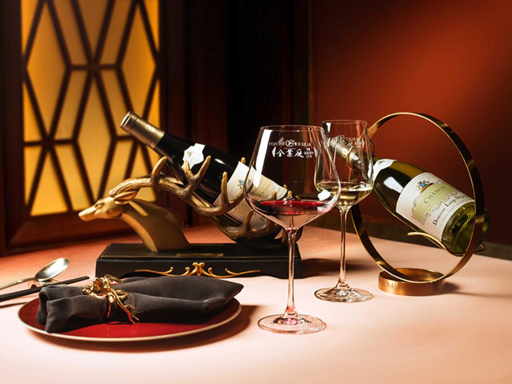 香港8道菜晚餐配Albert Bichot葡萄酒