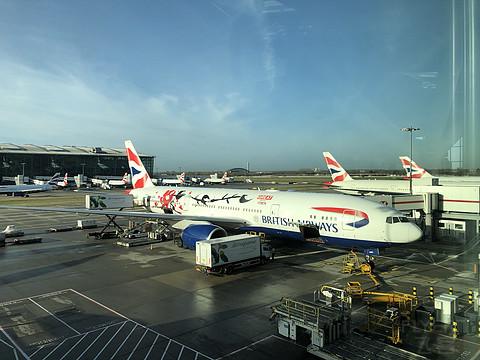 英航 BA169 伦敦希思罗上海浦东 商务舱报告