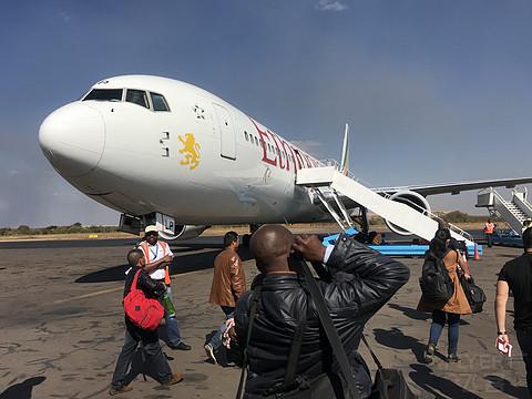 坐上埃塞俄比亚航空,致敬与梦想!