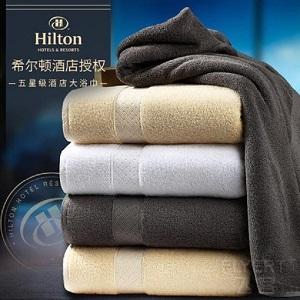 秒杀|你想要的希尔顿、洲际酒店大浴巾,好用不贵,限时¥89起(原价¥229)
