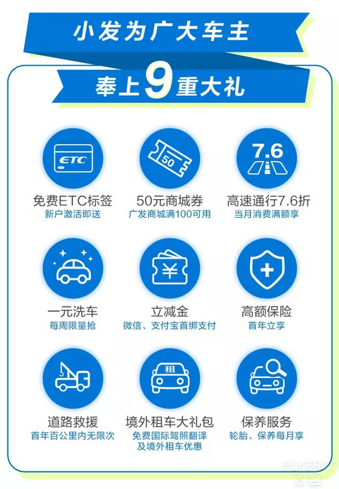 广发银行ETC电子标签免费领,享全国7.6折通行