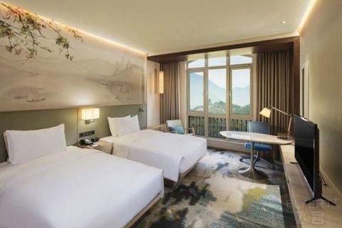 [已过期] ¥499/2晚,杭州鸬鸟新湖希尔顿花园酒店度假套餐,周末不加价,春节可用!