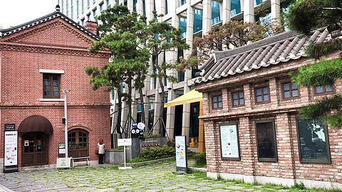 单身狗的孤寂3-疫情下的首尔南大门万怡