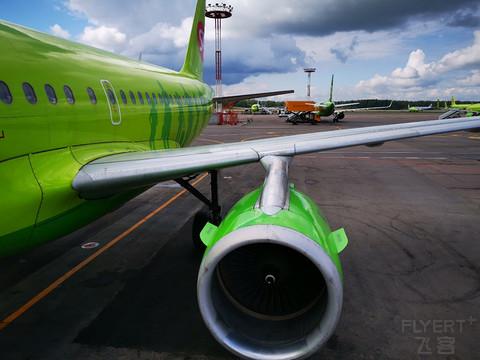 【圣彼得堡芬兰湾的午后】俄罗斯S7航空A319:DME-LED #11周年征文#
