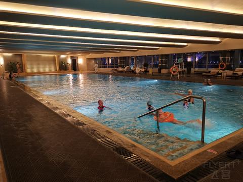 #飞客11周年#鼎致五星酒店游泳权益使用
