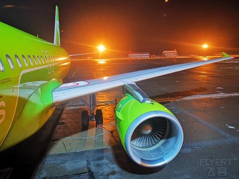 【西伯利亚航空的早班机】S7航空:UFA-DME
