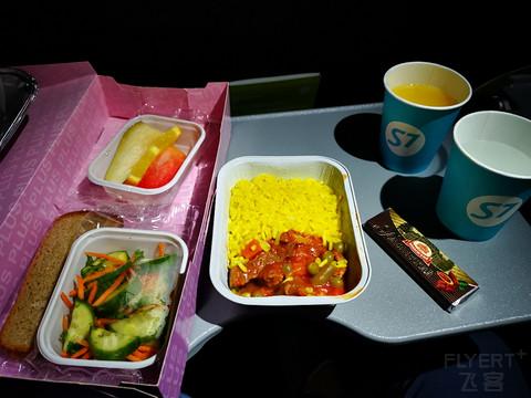 【低脂餐】西伯利亚航空DME-UFA