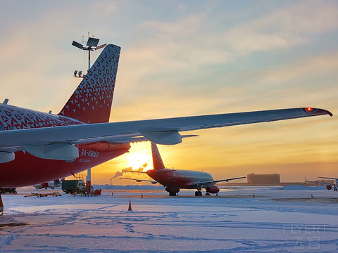 【Discover Russia:下诺夫哥罗德】Russia Airlines: SVO-GOJ#2021扬帆起航#