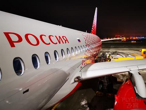 【双城璀璨】罗西亚航空:下新城-莫斯科