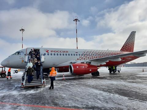 【返航后再出发】罗西亚航空FV/SU6239:SVO-EGO