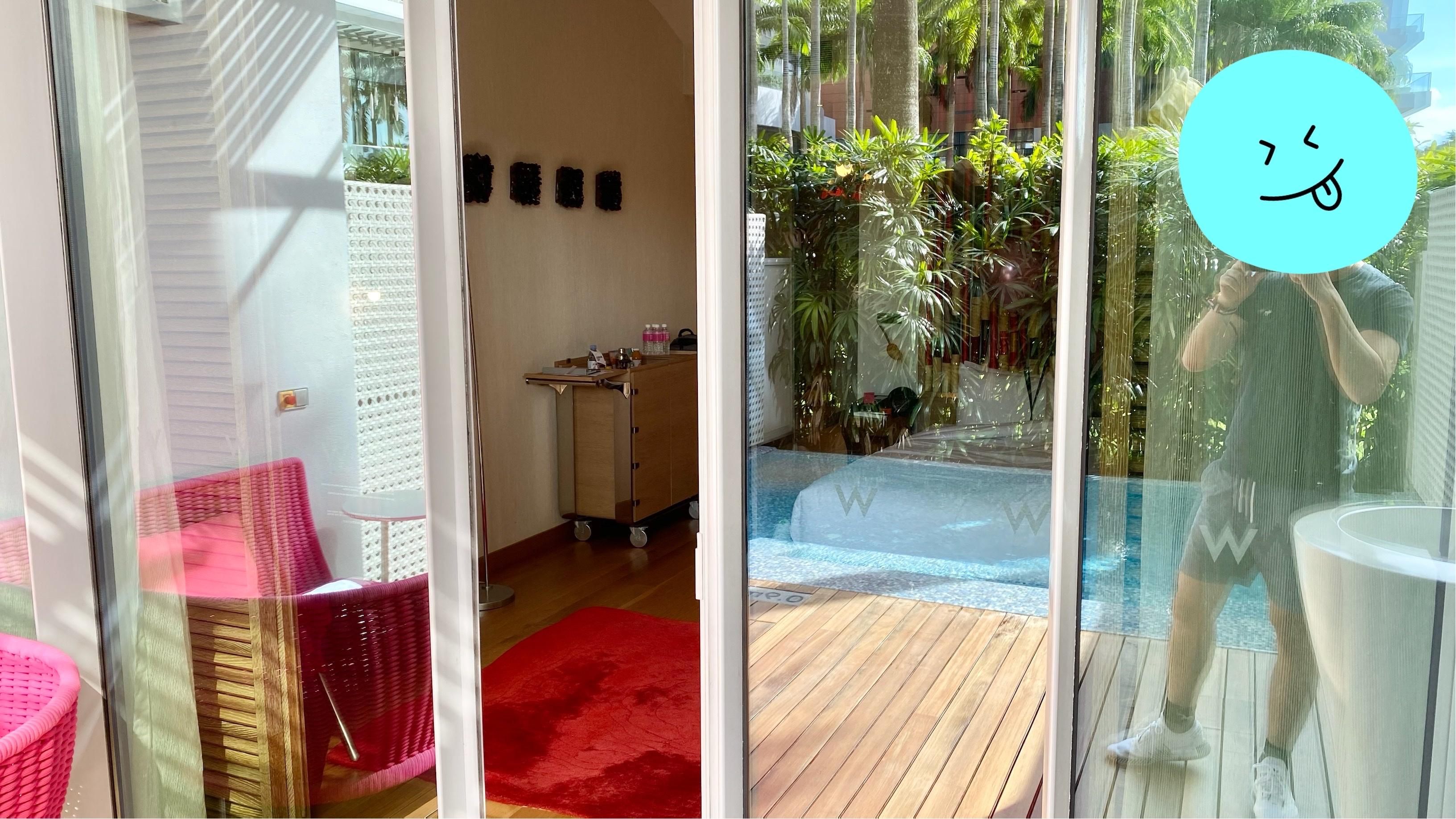 在圣淘沙中避世 — 新加坡W Sentosa Cove