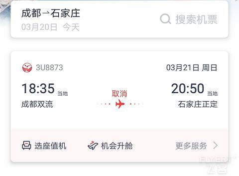 必须要发文纪念一下:熊猫8年第一次遇到航班取……