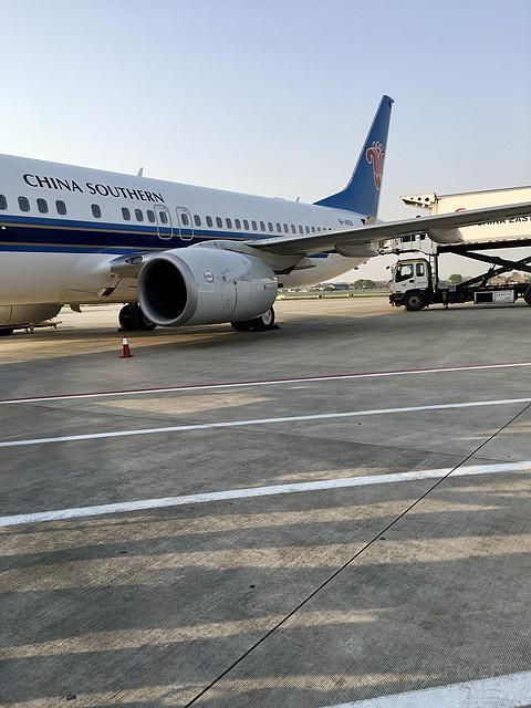 南方航空 CZ8518 宁波-贵阳 经历长时间延误