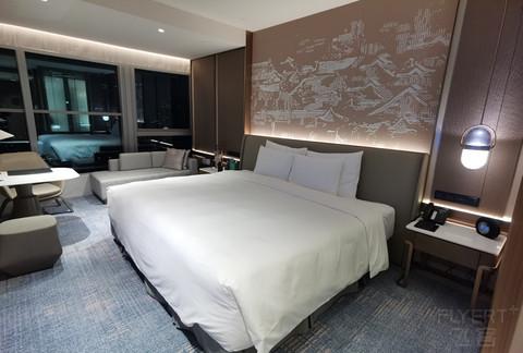 用浦发ae5万积分换的南京凯宾斯基酒店体验