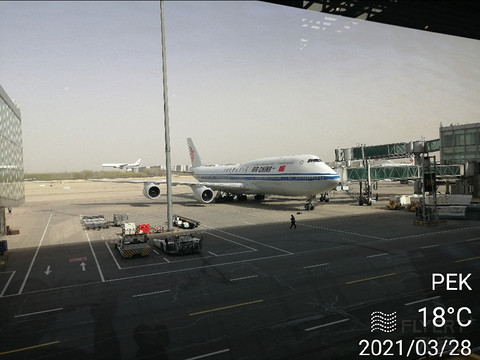 出差G开启CA金卡保级之旅随心记07/3月28日CA8905DLC2-PEK3中转接CA1889终到ZHU飞行报告