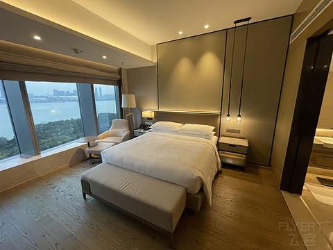 【Minster酒店旅152】如何与奢牌竞争?杭州钱江新城万豪行政套房