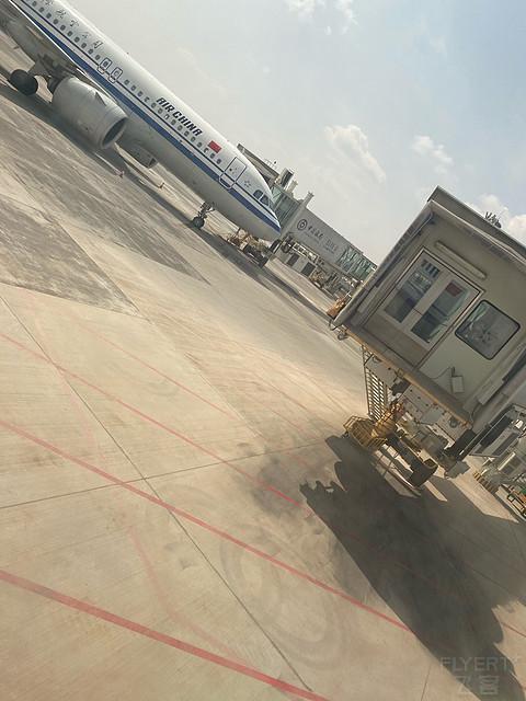 INC-TSN-WUH 国航CA8156/CA8278 打卡英雄城市!