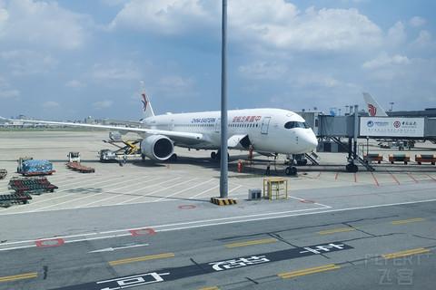 【东航建行联名卡里程兑换】打卡东航墨镜侠A350-900,公务舱初体验,MU2155,XIY-SHA