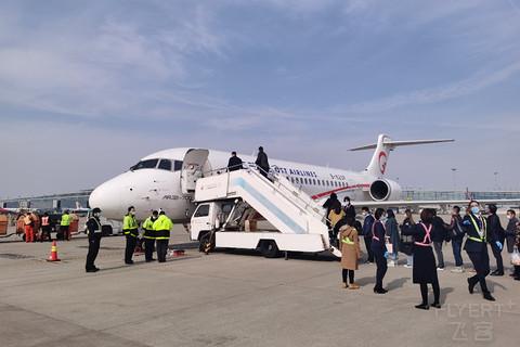 【一二三航空】打卡国产支线客机ARJ21,MU9109,上海浦东PVG-温州龙湾WNZ