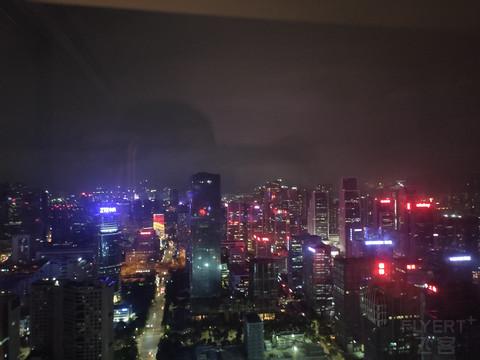 深圳湾万丽酒店双床角房体验