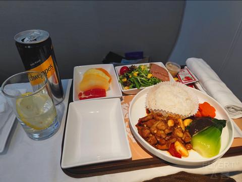 【自甬下南穗,寒流伴我飞】东方航空:NGB~CAN公务舱飞行体验