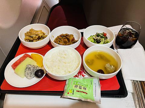 【海南航空】HU7162 A330-300X杭州至广州公务舱体验