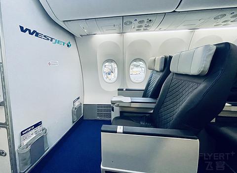[首发][737Max8]加拿大西捷航空商务舱Premium Class CYYZ-CYYC 后有彩蛋!