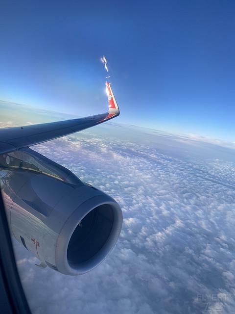 CKG-DLC四川航空3U8007空中公务舱体验