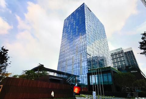 深圳国际会展中心希尔顿酒店行政套房入住体验