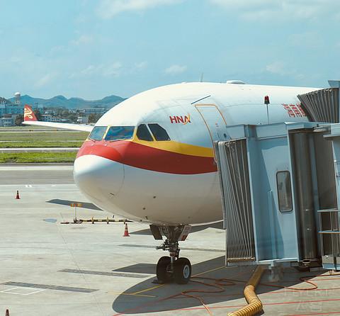 【五一出行-末篇】海航HU7163 PEK-NNG A333  再度广西唯一定期宽体航班