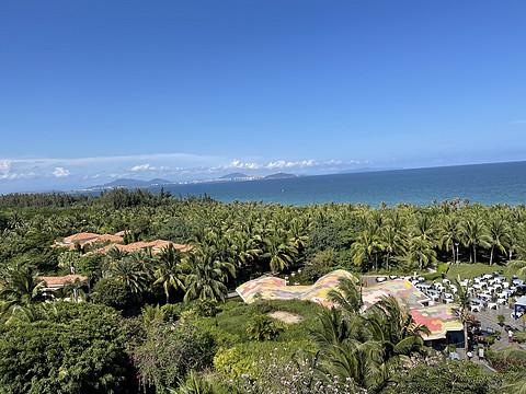 三亚海棠湾喜来登酒店 Sheraton Sanya Haitang Bay Resort 豪华海景大床房