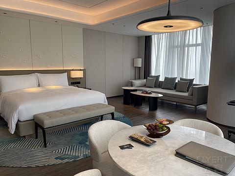 盐城万豪 三线城市的第二家万豪系酒店值得打卡吗?