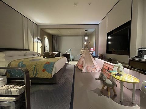五一遛娃之旅:Papahug家庭房+全餐饮体验—城市商务酒店jw侯爵的亲子服务