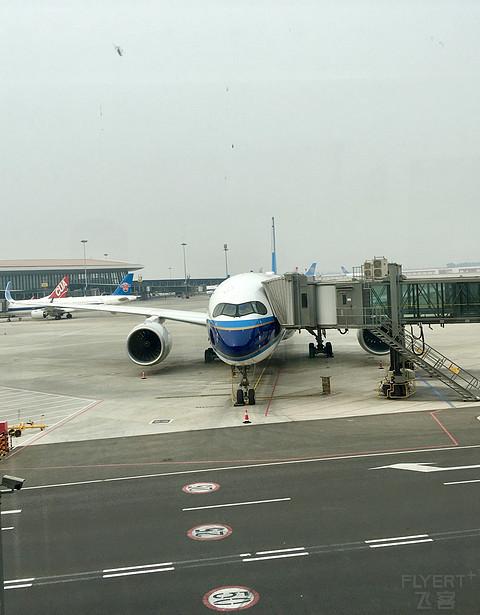 南航 CZ3000 北京大兴-广州白云 京广线南航A350-900经济舱体验