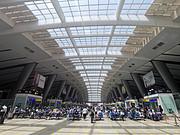 #趁初夏,去旅行# 工行送站+中行龙腾+广发自营,北京南站出行全记录