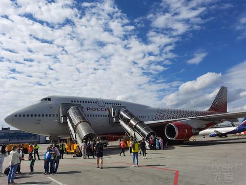 【老当益壮的747-400】罗西亚航空FV5503莫斯科飞索契