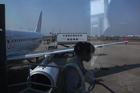 以前正常日子的飞行记录 英国旅行返程最后一段 搭乘港龙航空从香港回宁波