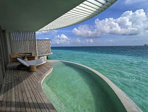 马尔代夫丽思卡尔顿开业体验 - 酒店餐饮及水上别墅篇