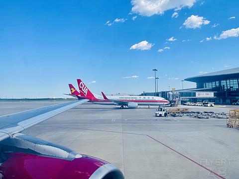 服务日渐消减的吉祥航空,天津——上海浦东