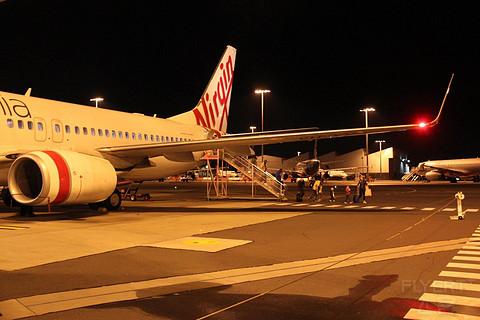 以前正常日子的飞行记录 搭乘维珍澳洲国内线经济舱由珀斯前往悉尼