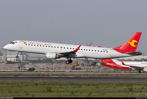[2021飞行记录3] DLC-YNT GS6433 天津航 E195 飞行体验