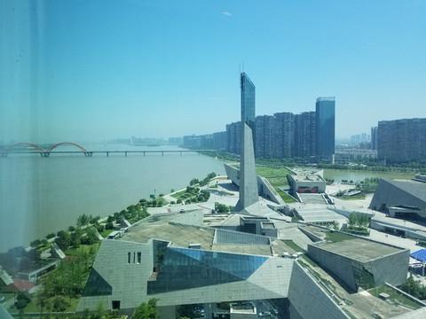 #趁初夏,去旅行#湘江北上,橘子洲头,长沙北辰洲际酒店周末之旅!