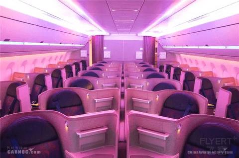 返京第二程:CA1532国航359沪京线