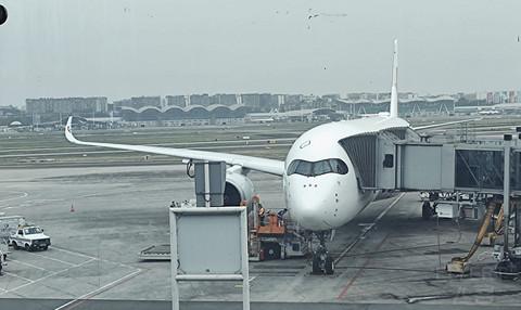 """[东方航空 空客A350]""""机""""缘已至,终于等到你---山城返沪"""