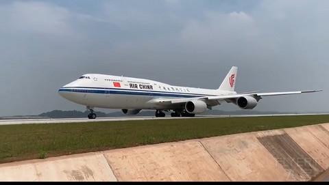 天府从蓉向世界出发!37分钟 飞行147分 成都天府首飞北京首都
