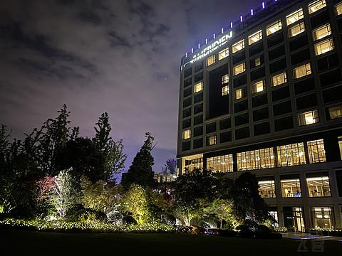 生态环境优秀适合度假的苏州湾艾美酒店