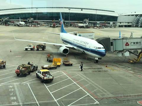 以前的飞行记录 搭乘南航国内明珠经济舱前往宁波 回家的最后一程