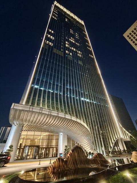 重庆两江新区高科希尔顿酒店打卡