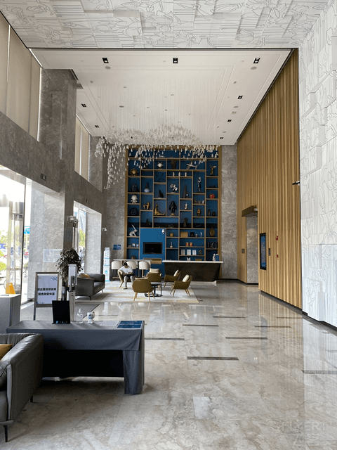 上海新虹桥国家会展中心灿辉希尔顿花园酒店初体验