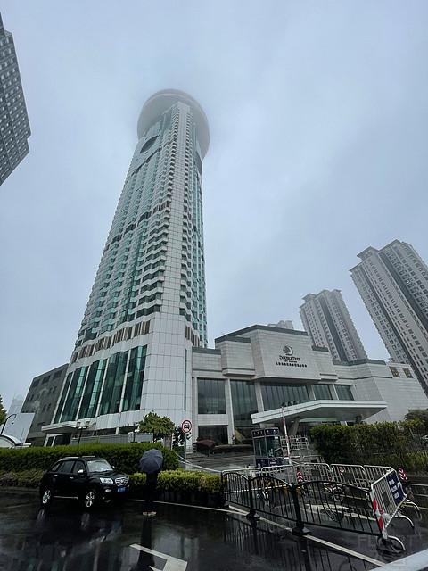 上海东锦江希尔顿逸林酒店套房入住测评